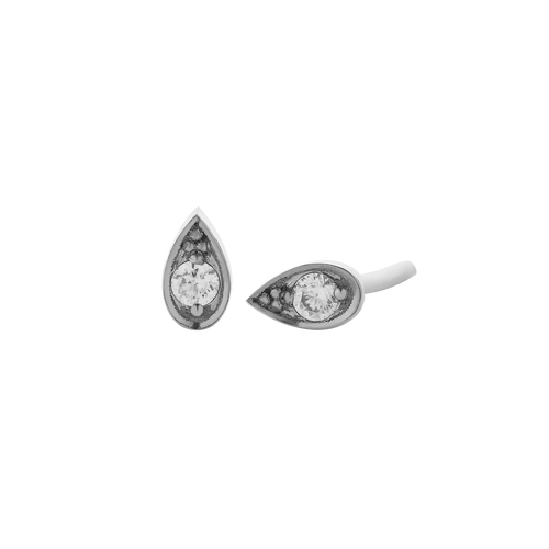Petal Stud Earrings Medium