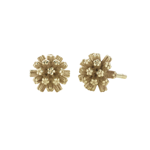 Pom Pom Stud Earrings