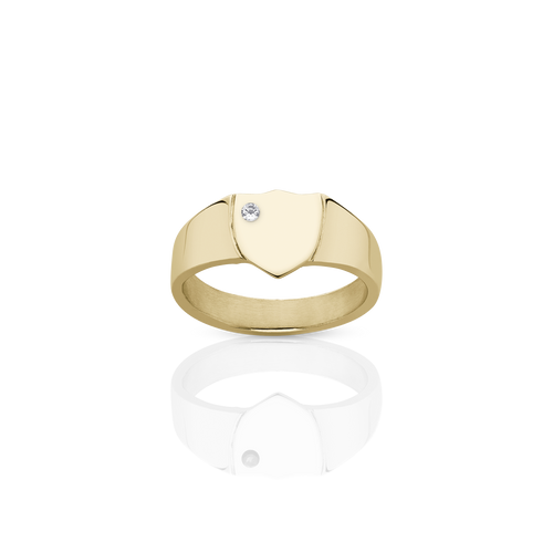 Signet Ring with Stone