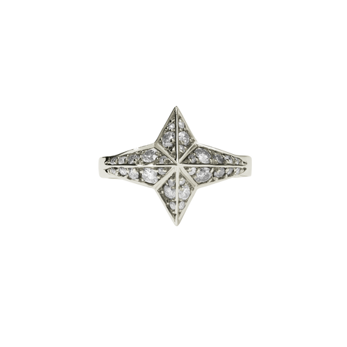 Star Ring Pave