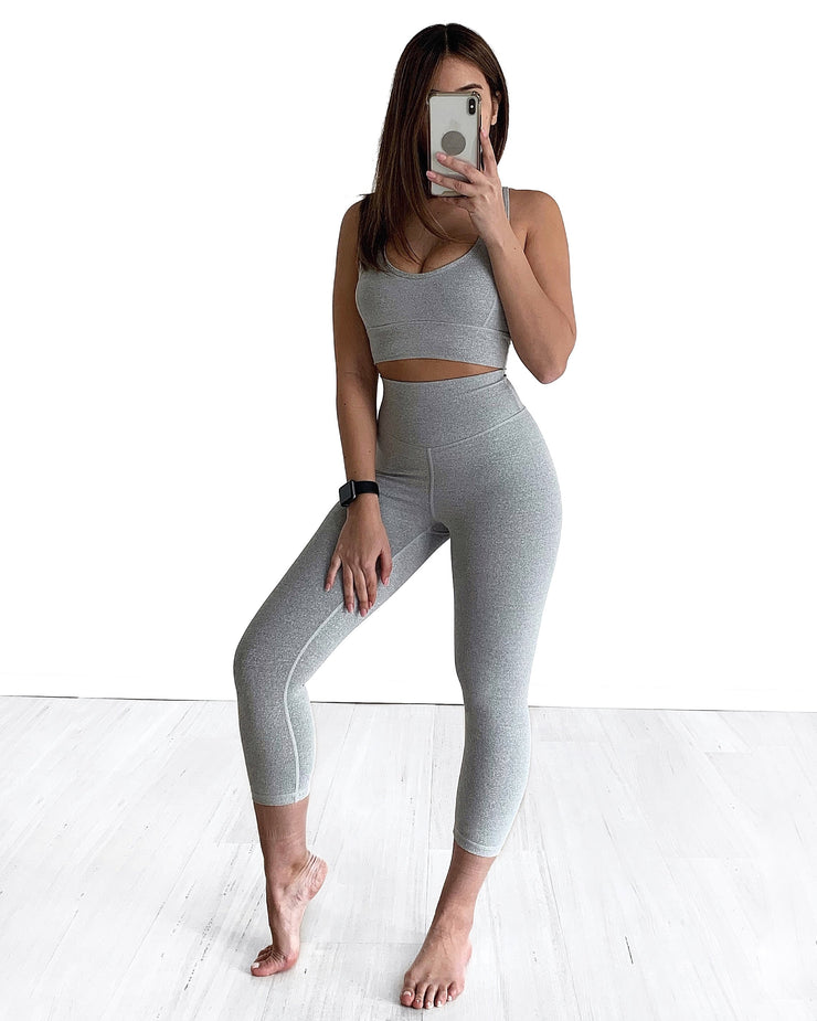 Stella 7/8 Length High Waisted Leggings - Milan The Label