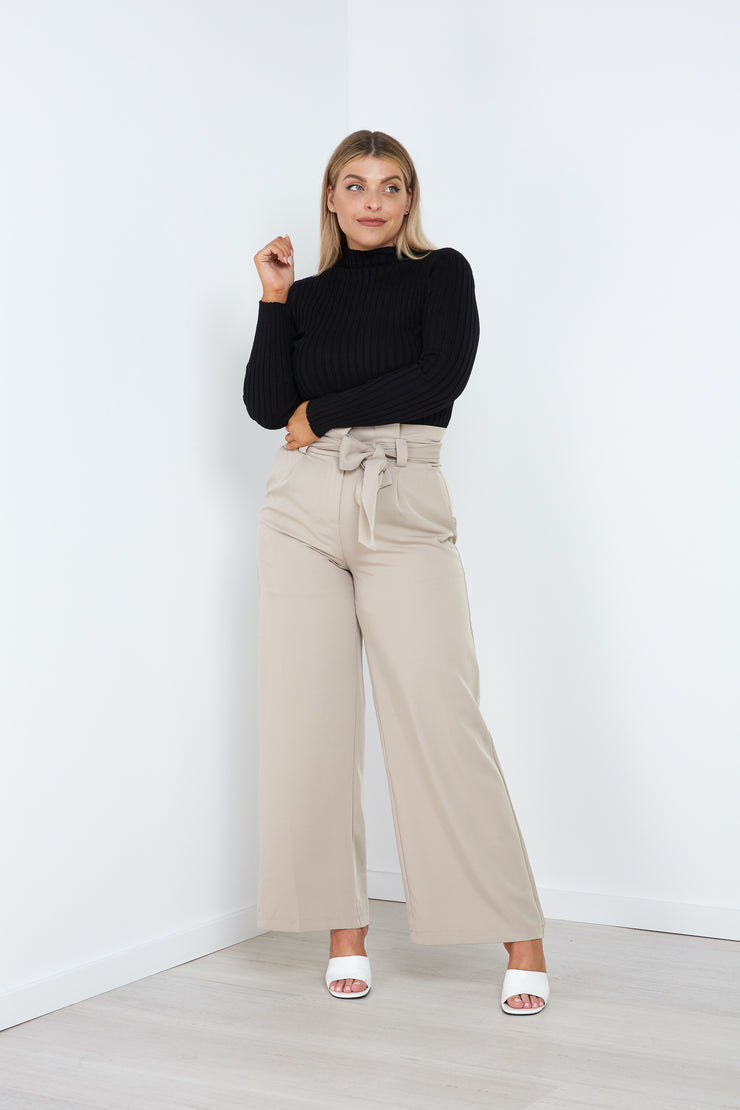 Alexia Turtle Neck Top - Milan The Label