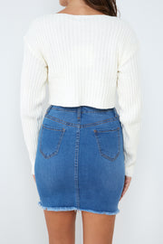 Seattle Skirt - Mid Blue