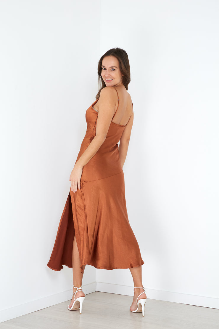 Nat Dress 2.0 Rust