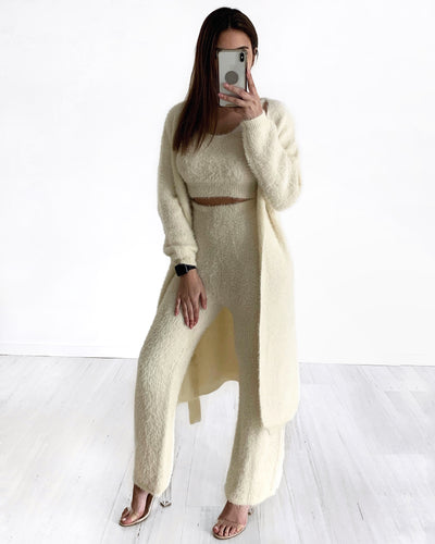 Mart Knit Set - Cream