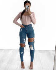 Long Button Bodysuit
