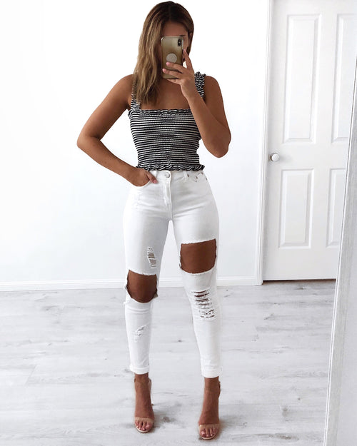 New Jersey Jeans - White