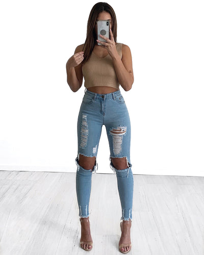 Tokyo Jeans - Light Blue | Australia Women's Online Fashion Clothing | Milan The Label