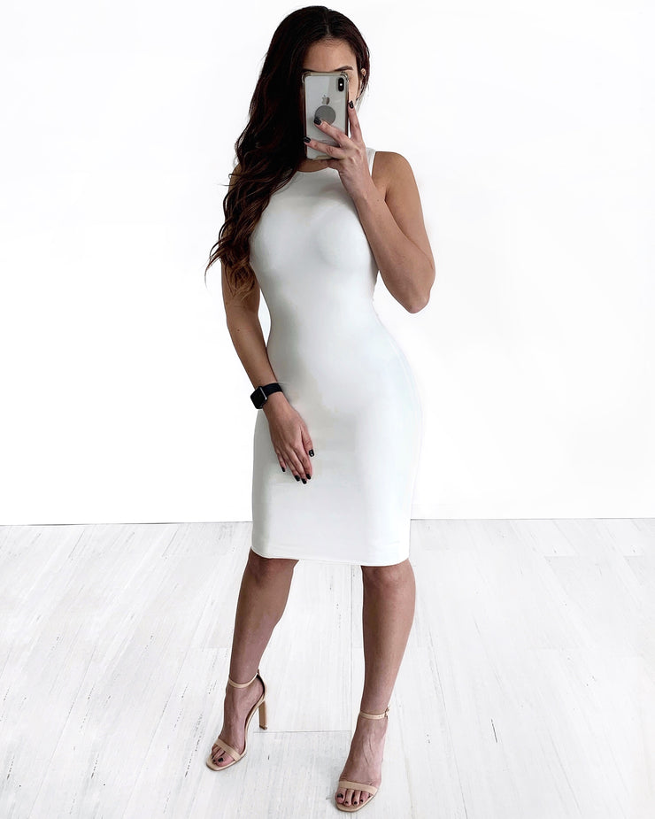 Scarlett Dress - White