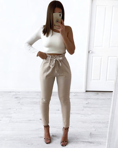 Work Boss Pants - Beige | Australia Women's Online Fashion Clothing | Milan The Label