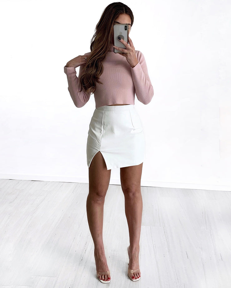 Beauty Leather Skirt | Australia Women's Online Fashion Clothing | Milan The Label