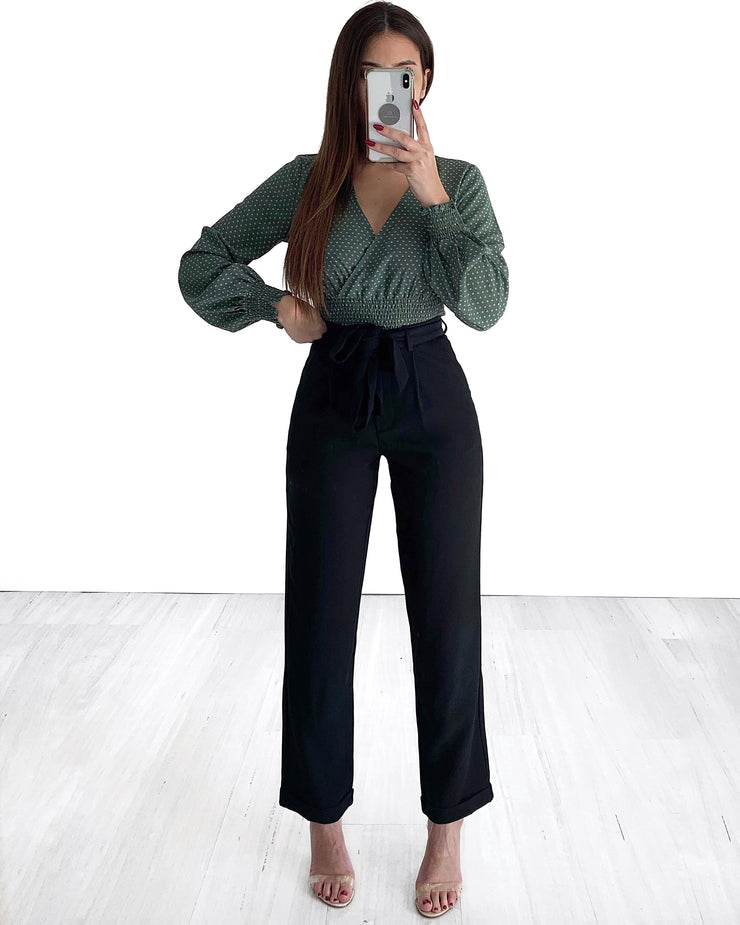 Maria Pants - Black | Australia Women's Online Fashion Clothing | Milan The Label