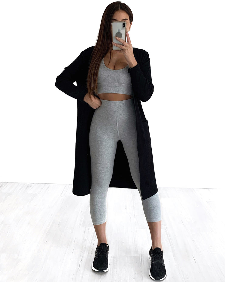 Pocket Light Cardigan - Black | Australia Women's Online Fashion Clothing | Milan The Label