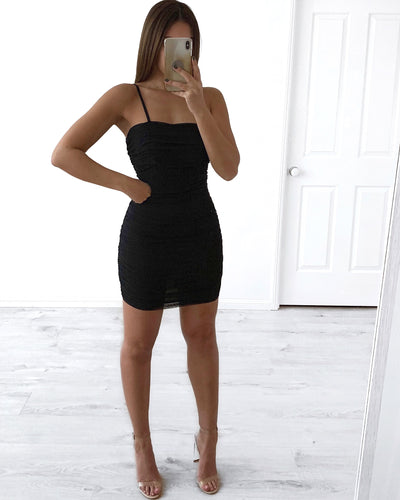 Tyler Dress - Black