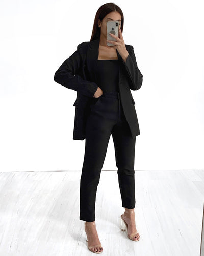 Boss Blazer - Black | Australia Women's Online Fashion Clothing | Milan The Label