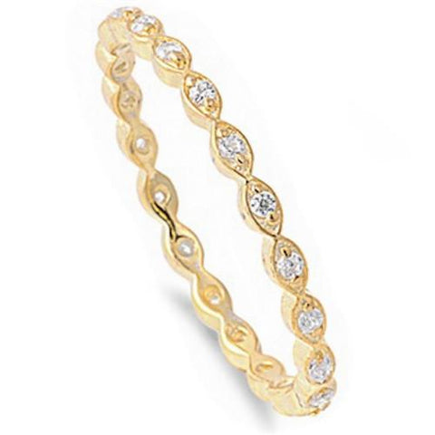 14K GOLD PLATED INFINITY PROTECTIVE EYE BAND MINI