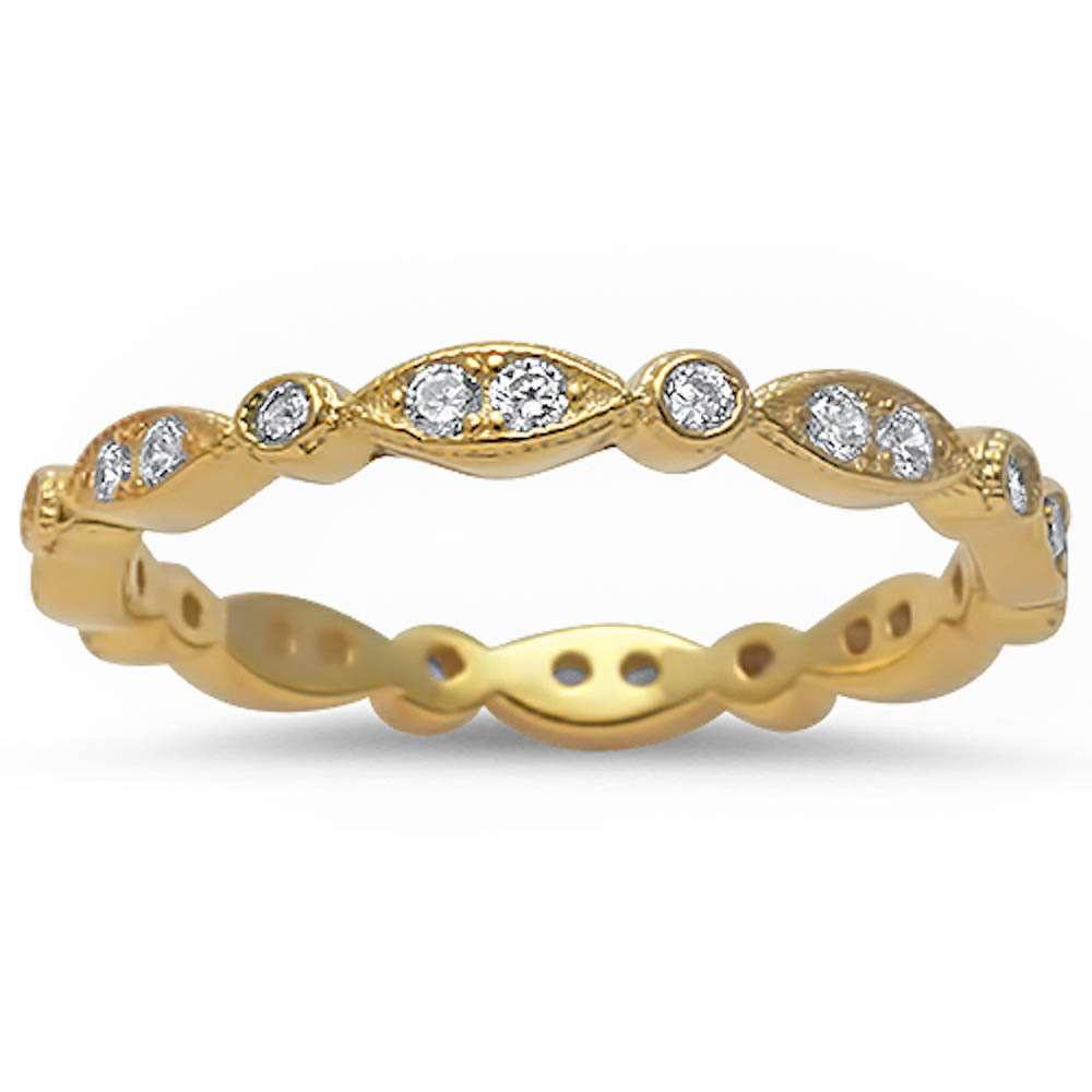 14K GOLD PLATED INFINITY PROTECTIVE EYE BAND