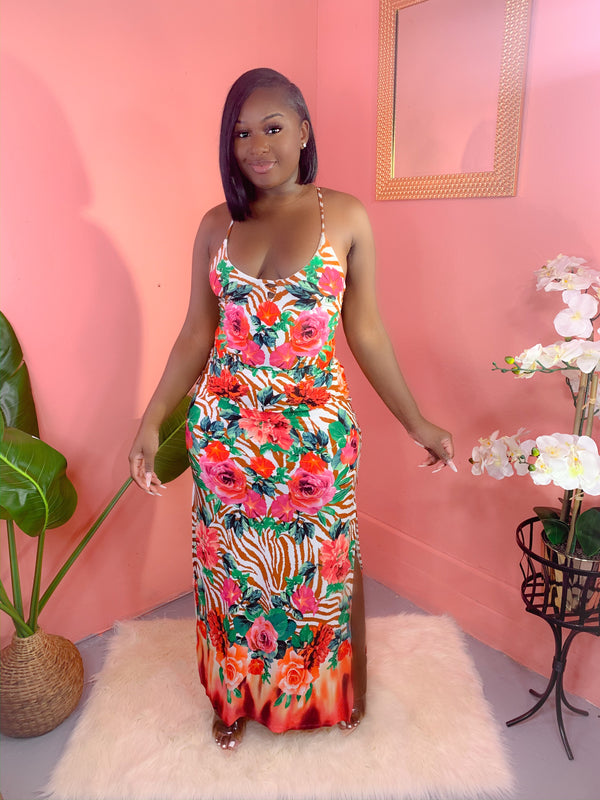 ISLAND HOPPING MAXI DRESS (FINAL SALE)