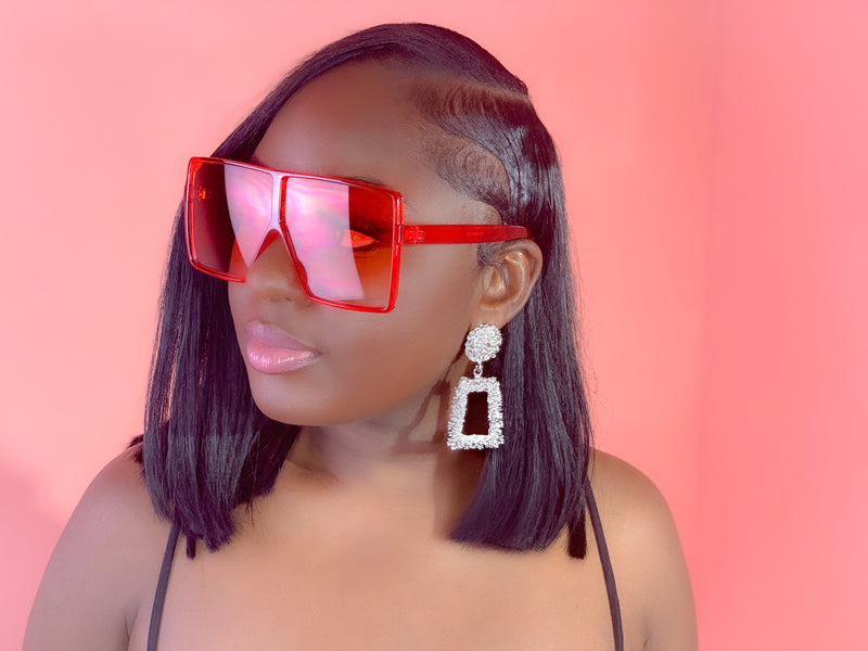 MAJOR SUNGLASSES (FIRE RED)