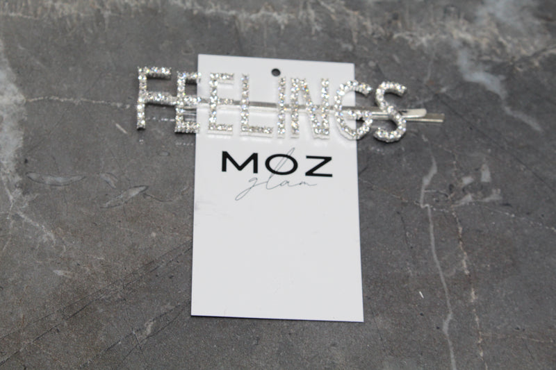 """FEELINGS"" HAIR PIN - Moz Glam"