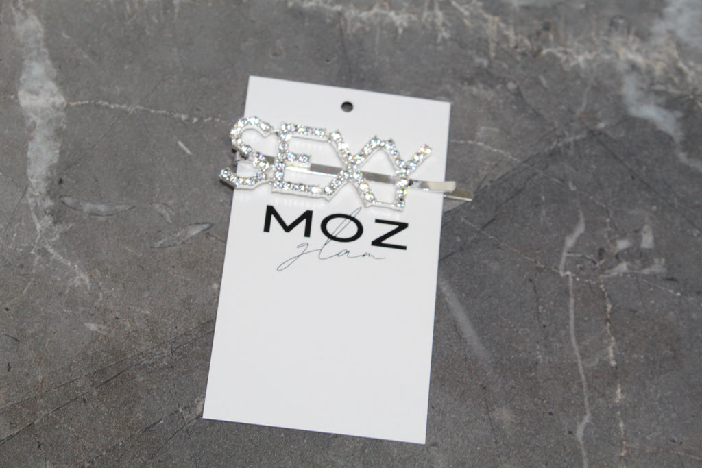 """SEXY"" HAIR PIN - Moz Glam"