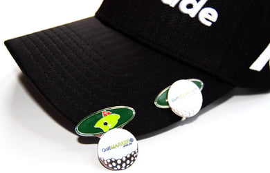 Ball Marker, Hat Clip, Money Clip, Divot Repairer, Golf Gifts, Corporate Golf Day, Womens Golf by GolfMARKER®