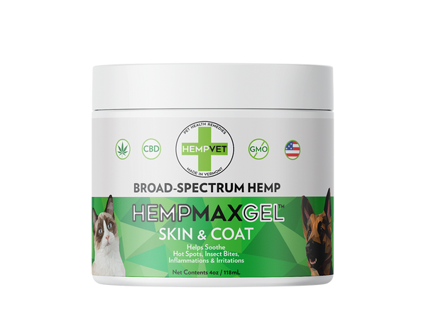 HEMPMAX GEL Skin & Coat (4oz)
