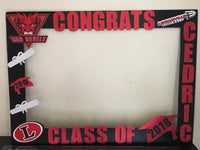 Graduation Photo Booth Prop Frame - wooden, Graduation party decorations, Graduation party supplies, Graduation picture frame