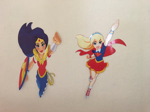 DC superhero girl  Cut Outs
