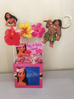 Moana Hawaiian party, Moana Hawaiian theme girls party