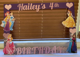 Disney Princess inspired Photo Prop Frame, Disney Princess party decorations, Disney Princess party photo prop, Disney Princess party supplies, Disney Princess