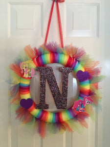 My Little Pony Tutu Wreath