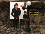 Michael Jackson, MJ inspired Cake or Cupcake Topper, Michael Jackson Party, Michael Jackson cake topper, Michael Jackson, King of Pop, MJ