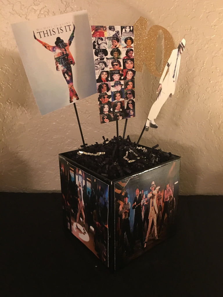 Michael Jackson Smooth Criminal Album Centerpiece