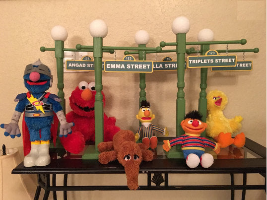 Sesame street lamp post sesame street party sesame street sesame street lamp post sesame street party sesame street centerpiece sesame street party props aloadofball Image collections