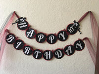 Michael Jackson inspired Birthday Banner, Michael Jackson Party, Michael Jackson party Decorations, MJ Party decor, King of Pop party, MJ