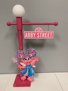 Sesame Street Lamp Post, Sesame Street Party, Sesame Street Centerpiece, Sesame Street Party Props