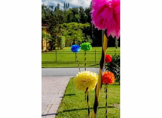 Dr. Seuss Inspired Truffula Trees Part Props, Seuss Themed party props, Dr. Suess Party