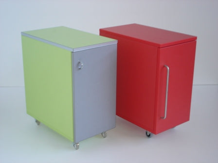Slim Lockable Cupboard