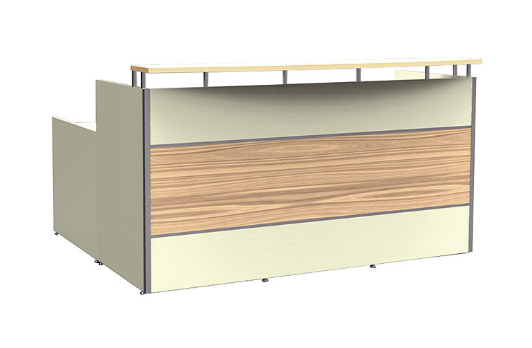 Accent Panel End Reception Desk