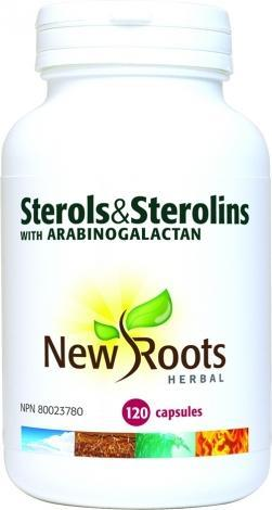 Sterols & Sterolins super immune avec arabinogalactan - New Roots Herbal