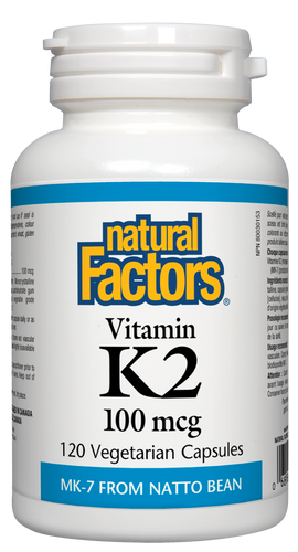 Vitamine K2 100mcg - Natural Factors