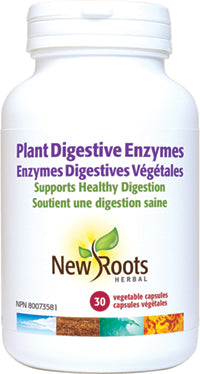 Enzymes digestives végétales - New Roots Herbal