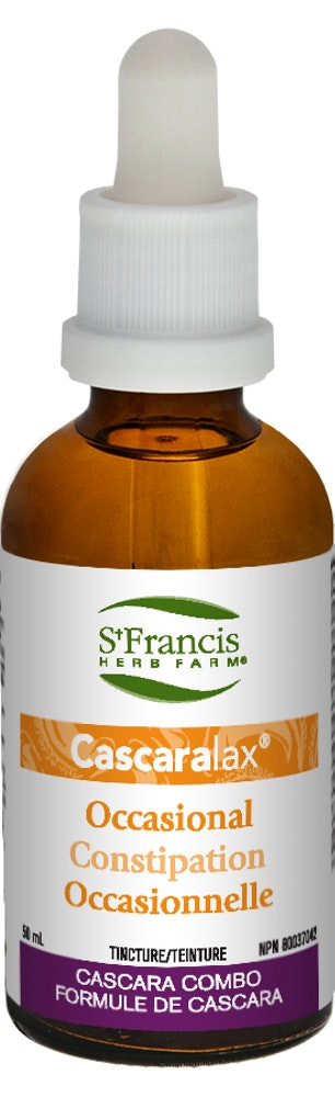 Cascaralax contre la constipation occasionnelle - St Francis Herb Farm
