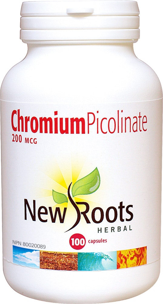 Chrome de picolinate 200 mcg - New Roots Herbal