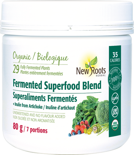 Superaliments fermentés - New Roots