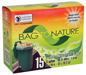Sac poubelle compostable - Bag To Nature