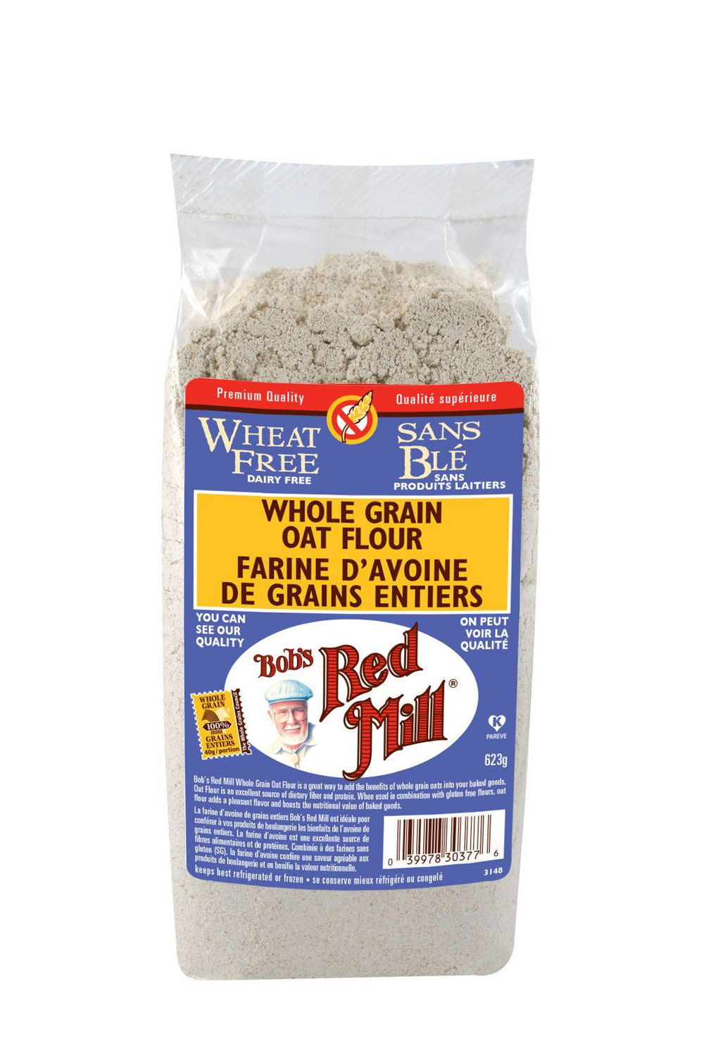 Farine d'avoine de grains entiers - Bob's Red Mill