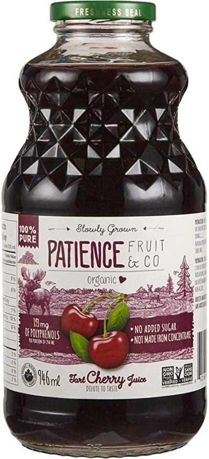 Jus de cerise griotte bio - Patience Fruit & Co