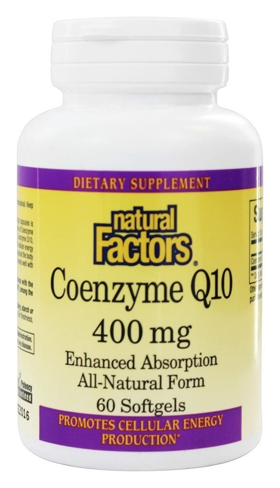 Coenzyme Q10 400 mg - Natural Factors